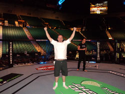 Greg ZEN Winner Has Knock Out Time at UFC